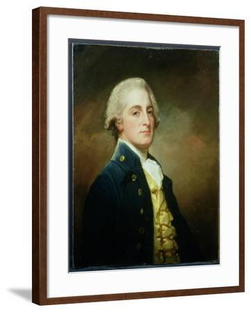 Portrait of George Boscawen (1758-1808) Third Viscount Falmouth, 1784-George Romney-Framed Giclee Print