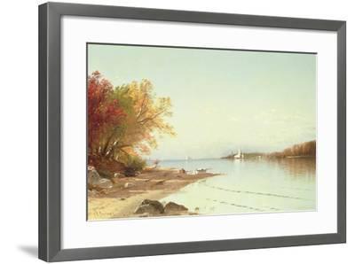 Narragansett Bay, Autumn, Rhode Island-Alfred Thompson Bricher-Framed Giclee Print