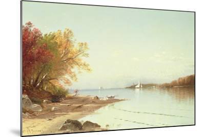 Narragansett Bay, Autumn, Rhode Island-Alfred Thompson Bricher-Mounted Giclee Print