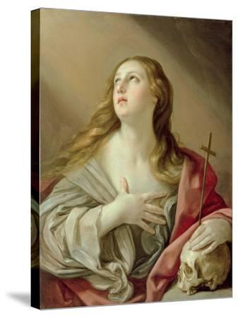 The Penitent Magdalene, C.1638-Guido Reni-Stretched Canvas Print
