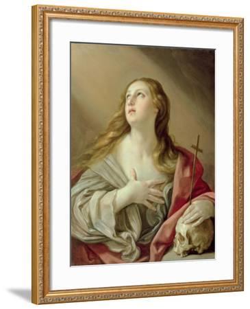 The Penitent Magdalene, C.1638-Guido Reni-Framed Giclee Print