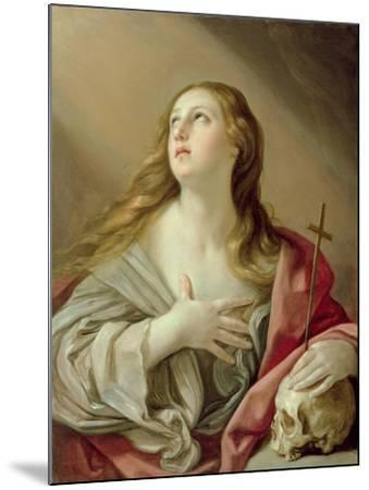 The Penitent Magdalene, C.1638-Guido Reni-Mounted Giclee Print