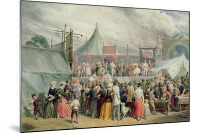A Visit to the Circus, C.1885-Charles Green-Mounted Giclee Print