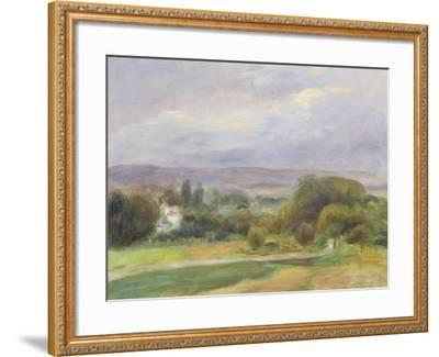 The Path, 1895-Pierre-Auguste Renoir-Framed Giclee Print