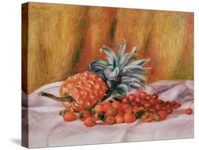 Strawberries and Pineapple, C.1895-Pierre-Auguste Renoir-Stretched Canvas Print