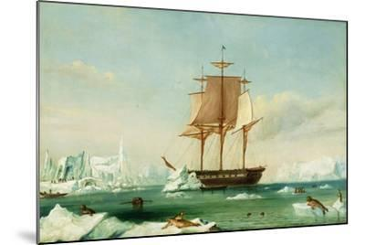 Dss 'Vincennes'-Captain Charles Wilkes-Mounted Giclee Print