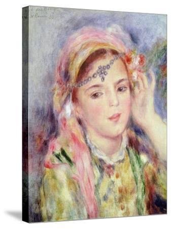 L'Algerienne, 1883-Pierre-Auguste Renoir-Stretched Canvas Print