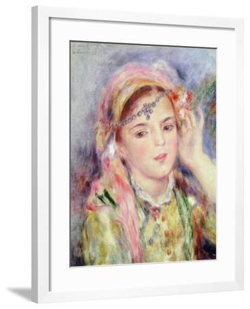 L'Algerienne, 1883-Pierre-Auguste Renoir-Framed Giclee Print