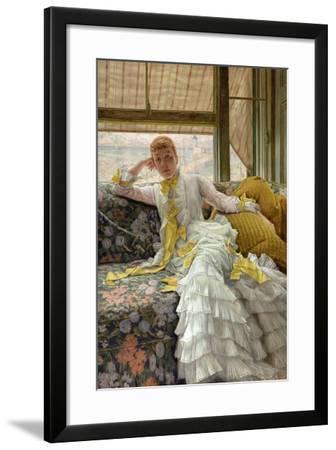 Seaside, 1878-James Tissot-Framed Giclee Print
