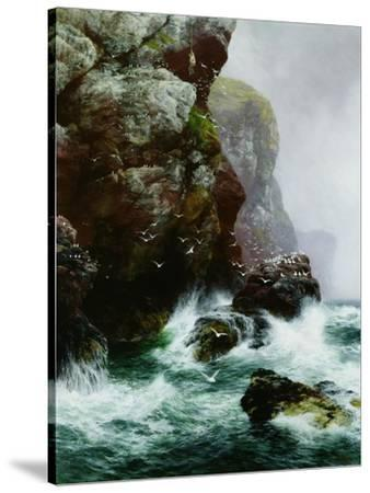 The Fowler's Crag, 1887-Peter Graham-Stretched Canvas Print