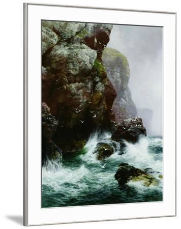 The Fowler's Crag, 1887-Peter Graham-Framed Giclee Print