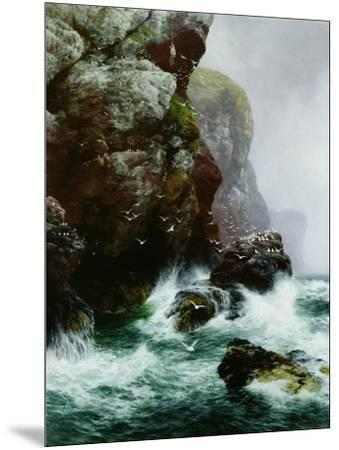 The Fowler's Crag, 1887-Peter Graham-Mounted Giclee Print