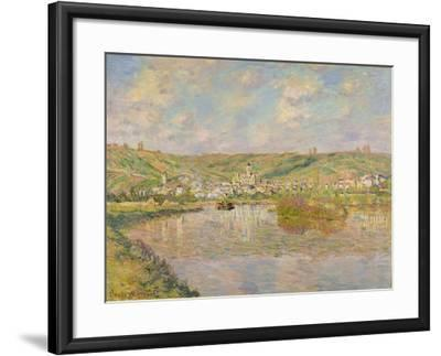Late Afternoon, Vetheuil, 1880-Claude Monet-Framed Giclee Print