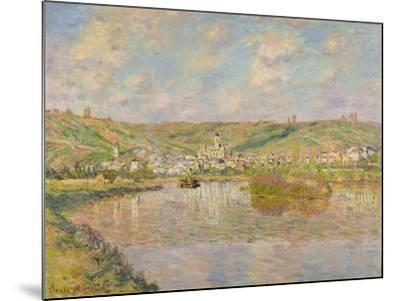 Late Afternoon, Vetheuil, 1880-Claude Monet-Mounted Giclee Print