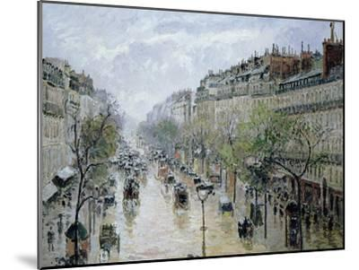 Boulevard Montmartre, 1897-Camille Pissarro-Mounted Giclee Print