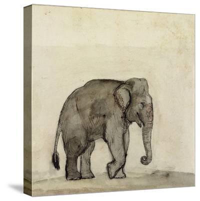 Elephant, C.1790-Gungaram Tambat-Stretched Canvas Print