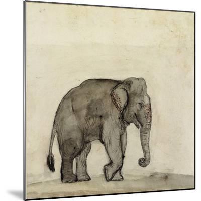 Elephant, C.1790-Gungaram Tambat-Mounted Giclee Print