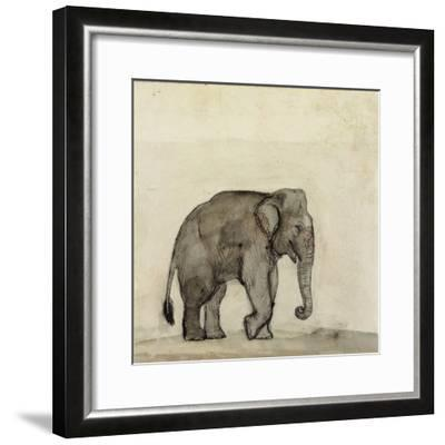 Elephant, C.1790-Gungaram Tambat-Framed Giclee Print