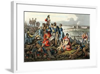 Waterloo, the Day After, Engraved by Matthew Dubourg (Fl.1813-20), Published by Edward Ormes…-John Heaviside Clark-Framed Giclee Print