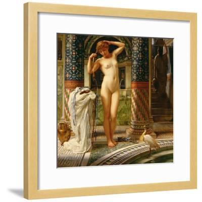 Diadumene, C.1883-Edward John Poynter-Framed Giclee Print