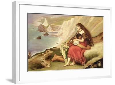 Ancient Briton-John Everett Millais-Framed Giclee Print