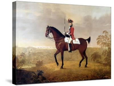 Thomas Boothby Parkyns (1755-1800) 1780-John Boultbee-Stretched Canvas Print