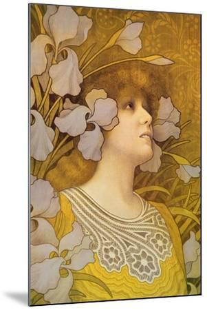 Sarah Bernhardt (1844-1923)-Paul Berthon-Mounted Giclee Print
