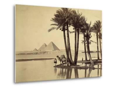The Pyramids, 1860-69-G^ Lekegian-Metal Print