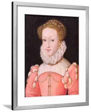 Mary Stuart (1542-87)-Francois Clouet-Framed Giclee Print