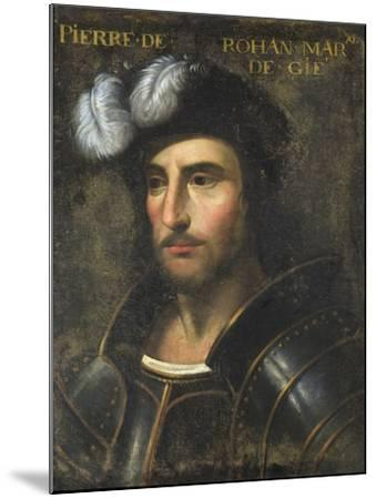 Pierre De Rohan (1451-1513) Sire De Gie--Mounted Giclee Print