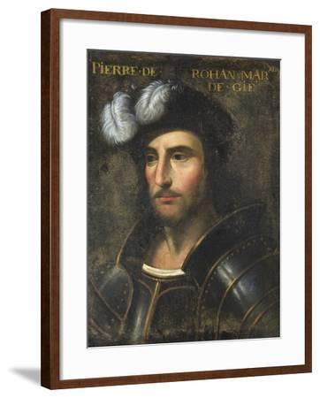 Pierre De Rohan (1451-1513) Sire De Gie--Framed Giclee Print