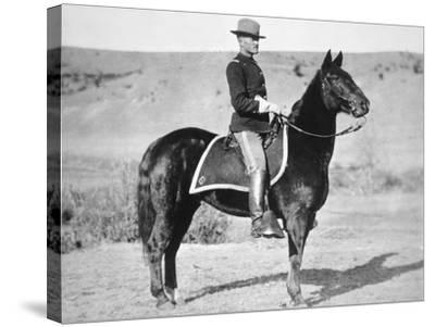 2nd Lieutenant John J. Pershing (1860-1948) 6th Us Cavalry Regiment, 1887--Stretched Canvas Print