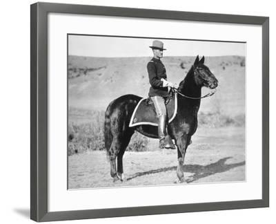 2nd Lieutenant John J. Pershing (1860-1948) 6th Us Cavalry Regiment, 1887--Framed Photographic Print