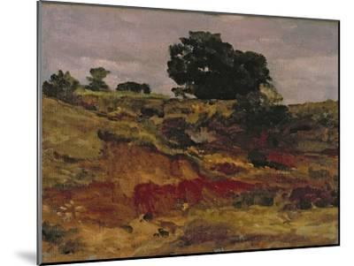 Sketch for a Landscape, 'View in Bedfordshire', C.1890-Frederick Leighton-Mounted Giclee Print