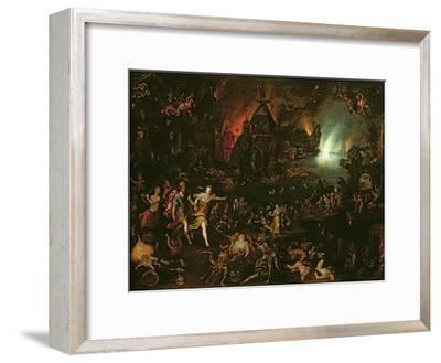 Aeneas in the Underworld-Jan Brueghel the Elder-Framed Giclee Print