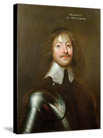 Portrait of James Graham (1612-50) 1st Marquis of Montrose, C.1640--Stretched Canvas Print