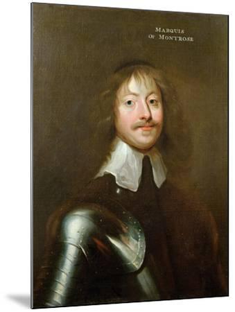 Portrait of James Graham (1612-50) 1st Marquis of Montrose, C.1640--Mounted Giclee Print