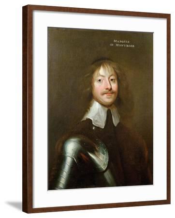 Portrait of James Graham (1612-50) 1st Marquis of Montrose, C.1640--Framed Giclee Print