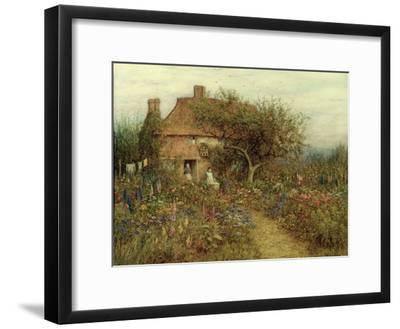 A Cottage Near Brook, Witley, Surrey-Helen Allingham-Framed Giclee Print