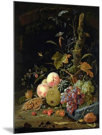 Still Life of a Forest Floor-Abraham Mignon-Mounted Giclee Print