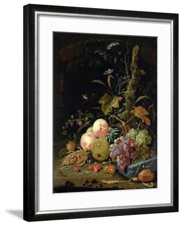 Still Life of a Forest Floor-Abraham Mignon-Framed Giclee Print