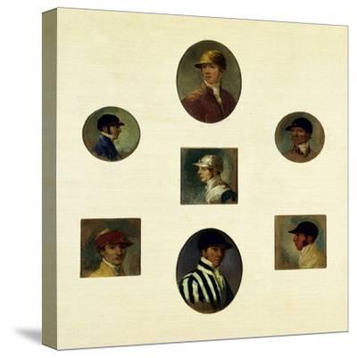 Studies of Jockeys, C.1830-Abraham Cooper-Stretched Canvas Print