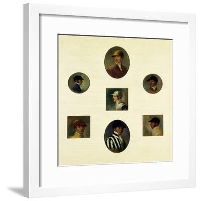 Studies of Jockeys, C.1830-Abraham Cooper-Framed Giclee Print