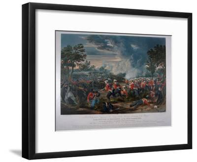 The 31st Regiment, Sir Harry Smith's Division Advancing to the Charge at the Battle of Moodkee…-Major G.F. White-Framed Giclee Print