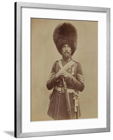 Sergeant William Powell, Grenadier Guards- Joseph Cundall and Robert Howlett-Framed Photographic Print