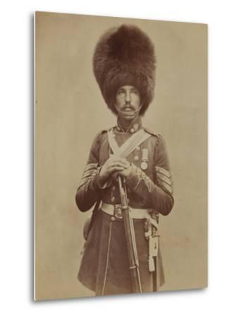 Sergeant William Powell, Grenadier Guards- Joseph Cundall and Robert Howlett-Metal Print