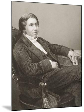 Charles Haddon Spurgeon (1834-92) Engraved by D.J. Pound from a Photograph, from 'The…-John Jabez Edwin Paisley Mayall-Mounted Giclee Print
