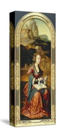 St. Catherine of Alexandria, Early 16th Century--Stretched Canvas Print