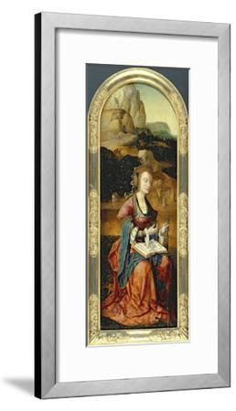 St. Catherine of Alexandria, Early 16th Century--Framed Giclee Print