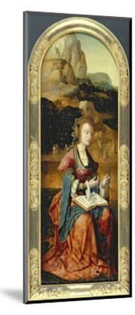 St. Catherine of Alexandria, Early 16th Century--Mounted Giclee Print